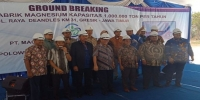 Ground Breaking PT. Magnesium Gosari Internasional